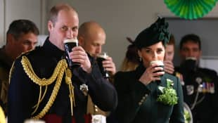 Prince William and Duchess Kate's Fun St. Patrick's Day Message