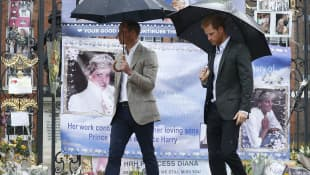 Prince William and Prince Harry Agree On Princess Diana Tribute