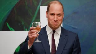 Prince William gave the keynote speech in Dublin on Wednesday.
