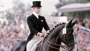 La Princesa Ana participó por primera vez en los Juegos Olímpicos de Toronto