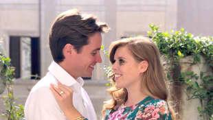 La princesa Beatriz y Edoardo Mapelli