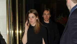 Princess Beatrice and Edoardo Mapelli