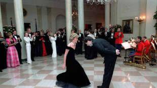 Princess Diana and John Travolta