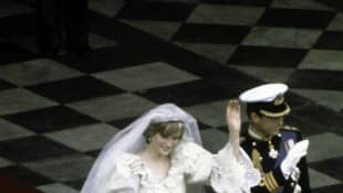 Princess Diana and Princess Charles