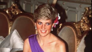 Princess Diana in Thailand in 1988