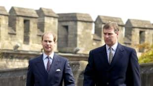 El Príncipe Andrés y el Príncipe Eduardo