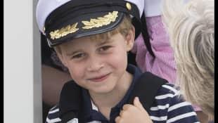 El Príncipe George en la regata King's Cup