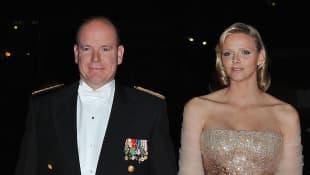 Príncipe Alberto II y princesa Charlene de Mónaco