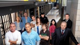 The Cast of 'Prison Break'.