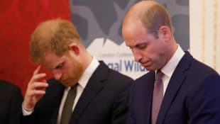 Príncipe William y el príncipe Harry