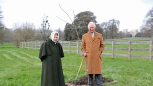 Queen Elizabeth and Prince Charles Come Together For Project Launch
