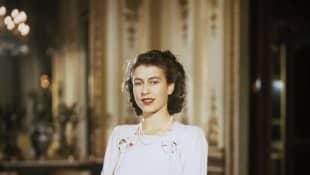 Queen Elizabeth II in 1947