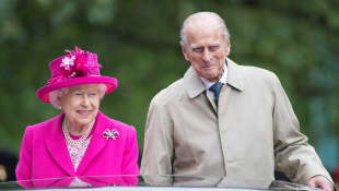 Queen Elizabeth II And Prince Philip Celebrate Anniversary With Special Photo