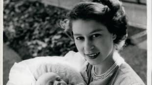 Princesa Ana y la Reina Isabel