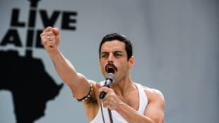 Rami Malek as Freddy Mercury in 'Bohemian Rhapsody""