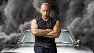 Vin Diesel en un póster de 'Rápidos y furiosos 9'