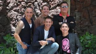 René Farrait, Miguel Cancel, Ricky Melendez, Johnny Lozada y Ray Reyes