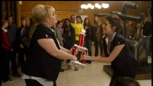 Rebel Wilson and Anna Kendrick in 'Pitch Perfect'
