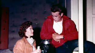 Natalie Wood and James Dean in 'Rebel Without a Cause'
