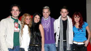 Alfonso Herrera, Anahí, Maite Perroni, Christian Chávez, Christopher von Uckermann y Dulce María