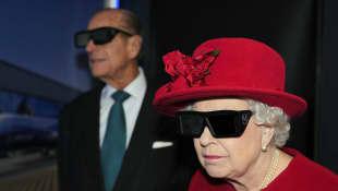 Reina Isabel y el príncipe Felipe de Edimburgo