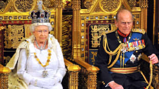 Queen Elizabeth II and Prince Philip of Edinburgh