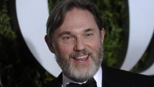 Richard Thomas on the red carpet at the 2017 Tony Awards.