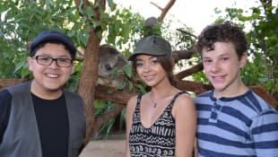 Rico Rodriguez, Sarah Hyland y Nolan Gould de 'Modern Family'