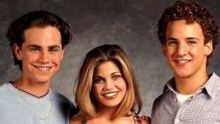 Rider Strong, Danielle Fishel y Ben Savage