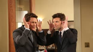 Rob Lowe and Adam Scott in 'Parks and Recreation'