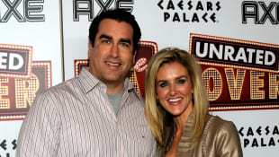 Rob Riggle and Tiffany Riggle