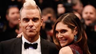 Robbie Williams y Ayda Field
