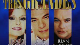 Rocío Dúrcal, José José y Juan Gabriel