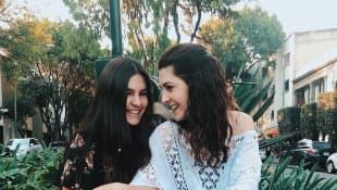 Romina Poza y Mayrín Villanueva