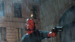 """Ron Perlman in 'Hellboy II: The Golden Army"""""""