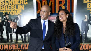 """Rosario Dawson Had to Be Sure She Wanted Boyfriend Cory Booker to Be """"Her Person"""""""