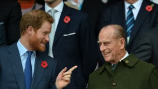 """Royals Avoiding """"Overwhelming"""" Prince Philip With Harry and Meghan Drama"""