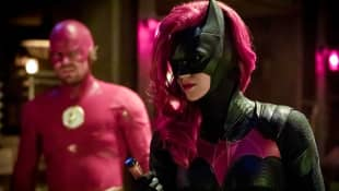 Ruby Rose and Stephen Amell in 'Batwoman'