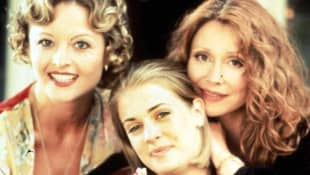 The 'Sabrina the Teenage With' cast: Caroline Rhea, Melissa Joan Hart Beth Broderick.
