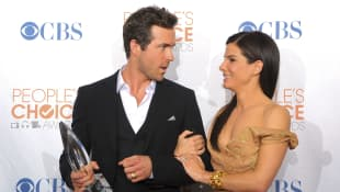 Ryan Reynolds y Sandra Bullock