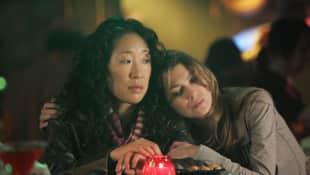 Sandra Oh and Ellen Pompeo