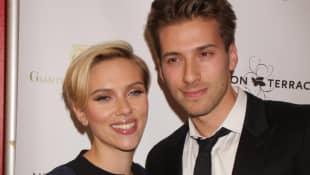 Scarlett Johansson and Hunter Johansson.