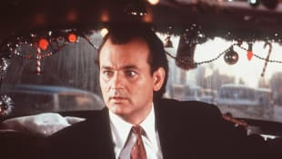 "BIll Murray as ""Frank Cross"" in Scrooged"
