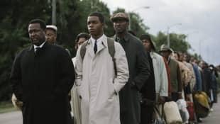 Wendell Pierce and Stephan James in 'Selma'