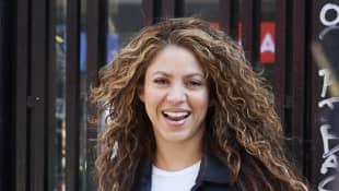 Shakira attends court for plagiarising the song 'La Bicicleta' on March 27, 2019 in Madrid, Spain
