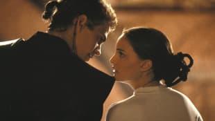 Hayden Christensen and Natalie Portman on 'Star Wars: Episode II'