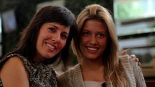 Stephanie Salas y Michelle Salas