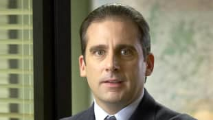 Steve Carell como Michael Scott en la primera temporada de 'The Office'