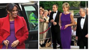 Duchess Meghan and Princess Diana