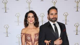 Susana González y Marcos Montero
